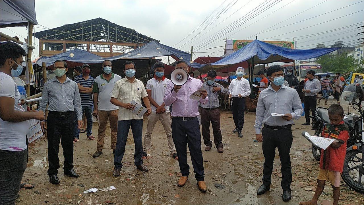 রাজধানীর গরুর হাটে ভোক্তা অধিদপ্তরের তদারকি অভিযান    DNCRP MARKET MONITORING