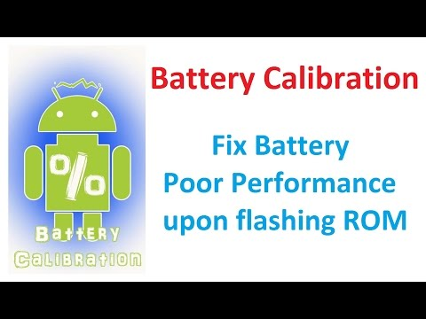 Battery Calibration For Any Android Phone - Fix Poor Performance Battery
