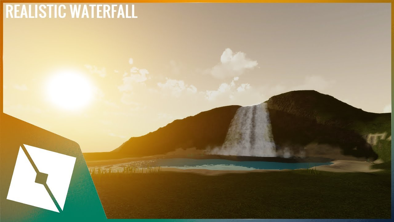 ROBLOX Tutorial | Making a Realistic Waterfall - YouTube