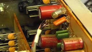 Marantz PM-45 Motorboating Phono Amplifier & Conductive glue.