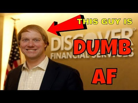 Discover Card Blocks Crypto Purchases for 44 Million Users - CEO Has Dumbest Reason Ever 💩💩💩