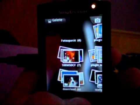 Sony Ericsson Xperia X10 mini pro CyanogenMod 7 android 2.3.3 gingerbread
