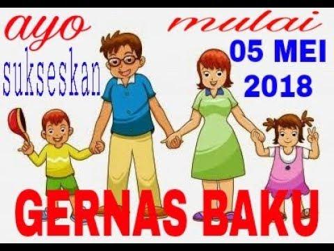 GERNAS BAKU (disertai teks) gerakan nasional orang tua membacakan buku 05 MEI 2018