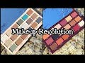 Makeup Revolution - Macaroon and Cranberries & Chocolate Bar Eyeshadow Palettes with Swatches