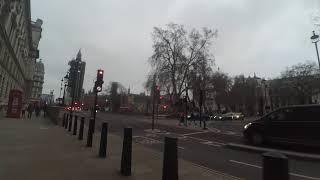 영국 런던 걷기 세인트 제임스 파크   웨스트민스터 역