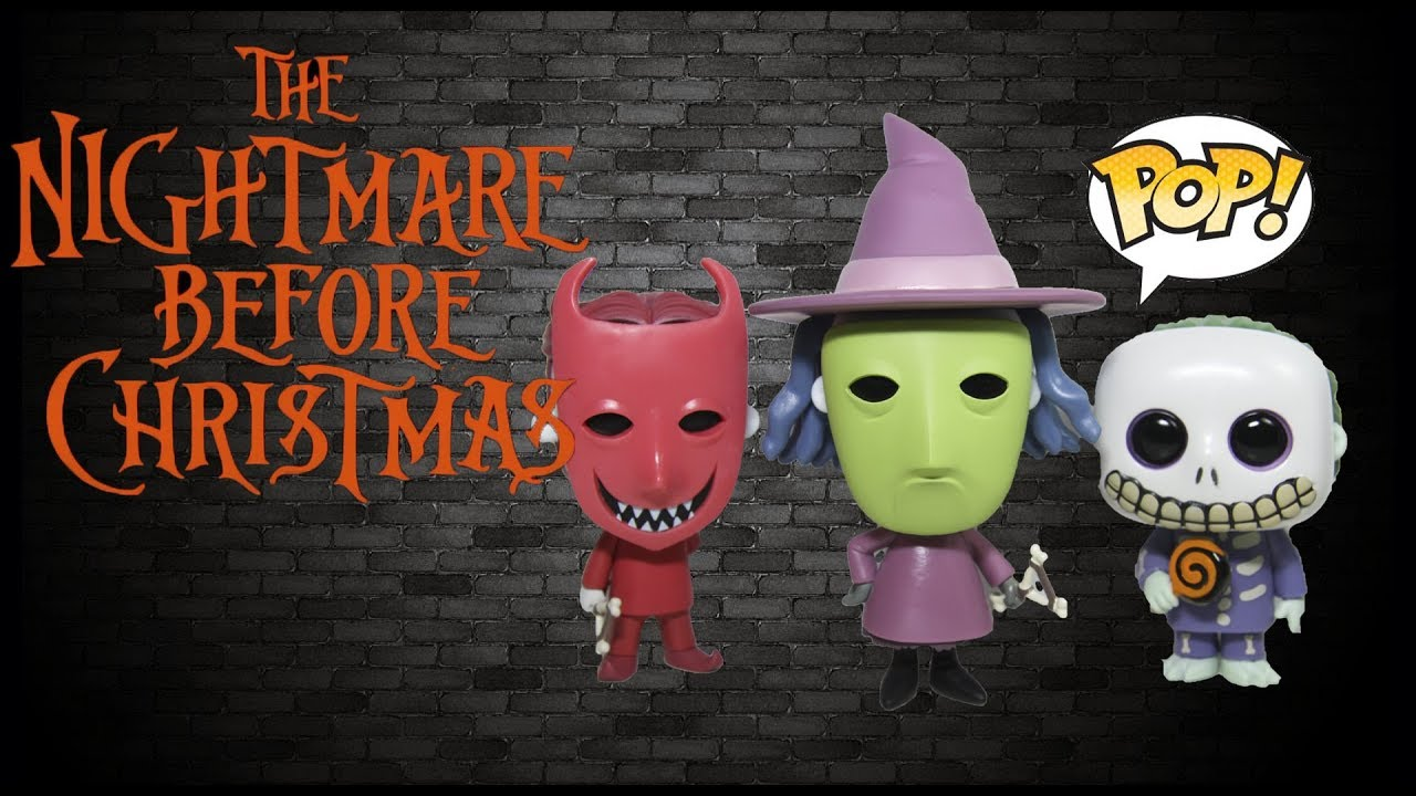 the nightmare before christmas lock shock barrel funko pop collection review - Barrel Nightmare Before Christmas