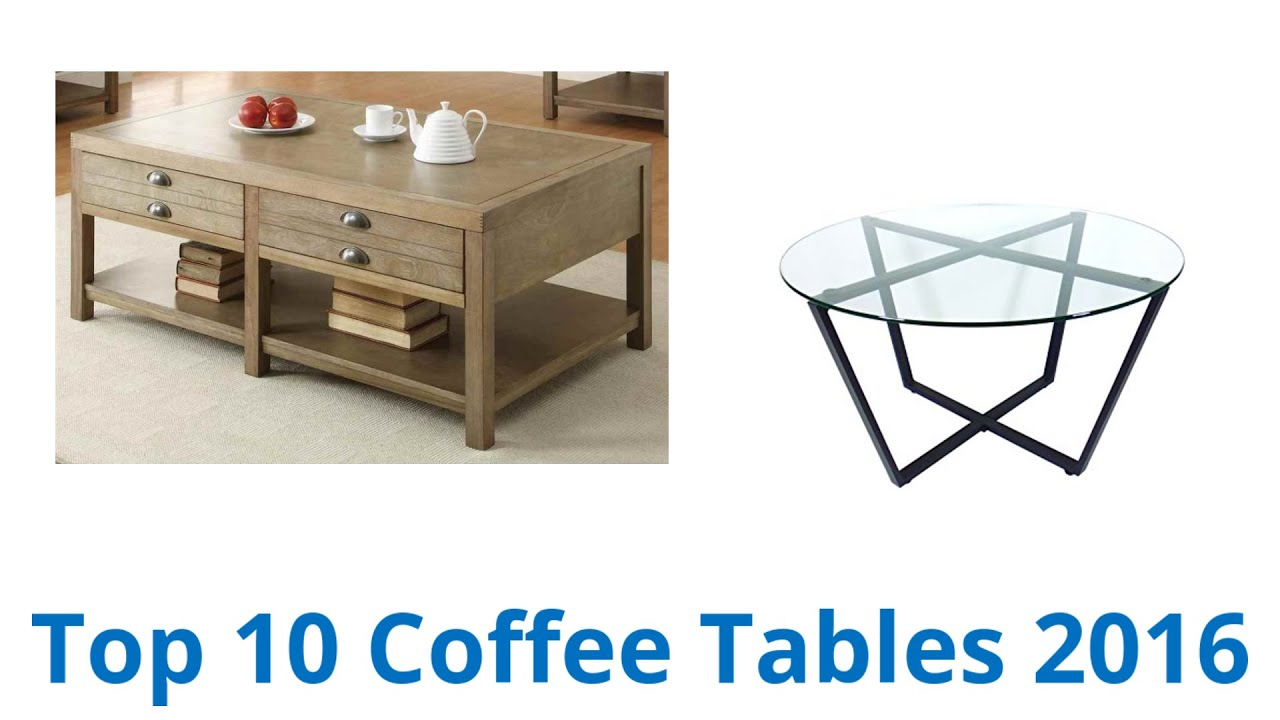 10 Best Coffee Tables 2016