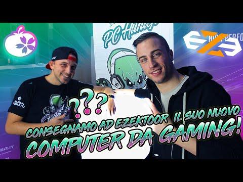 CONSEGNAMO AD EZEKTOOR IL SUO NUOVO COMPUTER DA GAMING!!