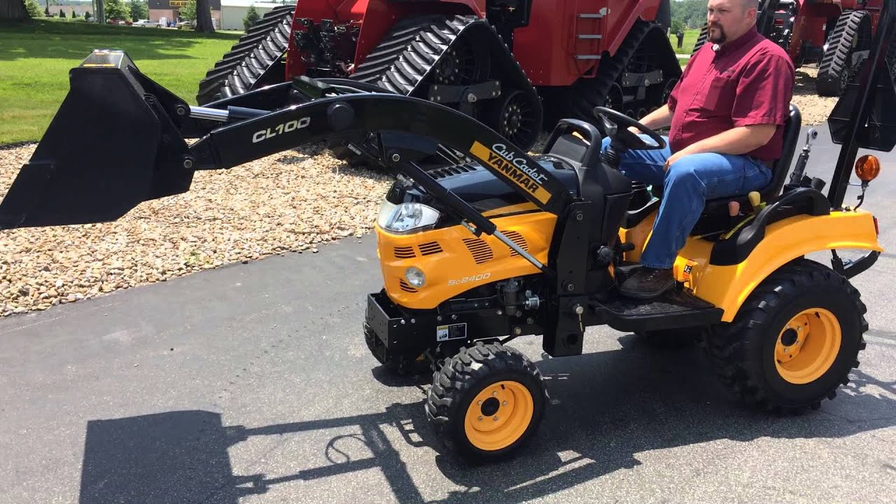 Used Tractors For Sale >> Cub Cadet Yanmar Sc2400 Sold on ELS! - YouTube