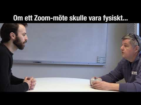 Om ett Zoom-möte skulle vara fysiskt...