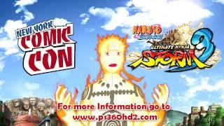 Naruto Storm 3: Will be @ NY Comic Con (Link in Description)