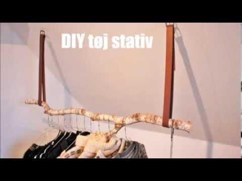 diy tøjstativ DIY tøjstativ   YouTube diy tøjstativ