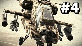 Ace Combat: Assault Horizon Enhanced PC Edition - Helicopter Mission Walkthrough - Red Moon - Part 4