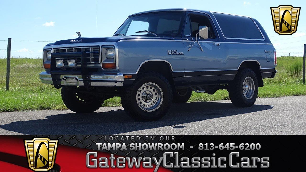 1984 Dodge Ram Charger AW 100 - Stock #1339-TPA - YouTubeYouTube