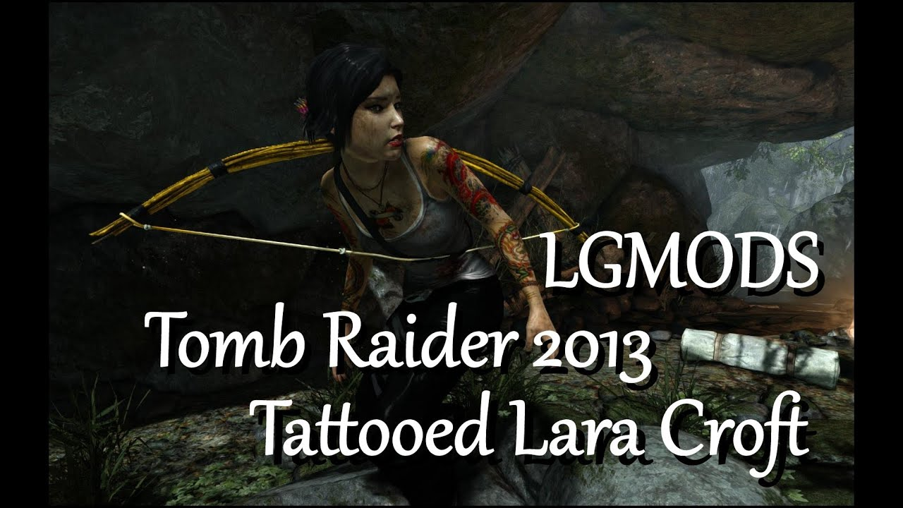 Tomb Raider 2013 Tattooed Lara Croft More Mod Youtube