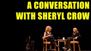 A conversation with Sheryl Crow (1 hour - Nashville, 4 November 2014)