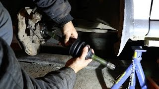 видео Замена пыльника ШРУСа, наружного и внутреннего