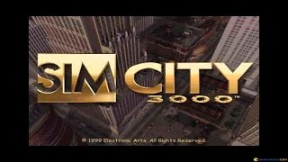 SimCity 3000 gameplay (PC Game, 1999)