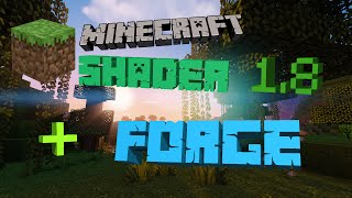 Minecraft ShaderMod + Forge installieren 1.8 [German]