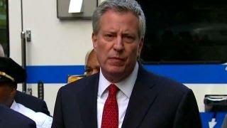 Clearly an act of terror: NYC Mayor Bill de Blasio