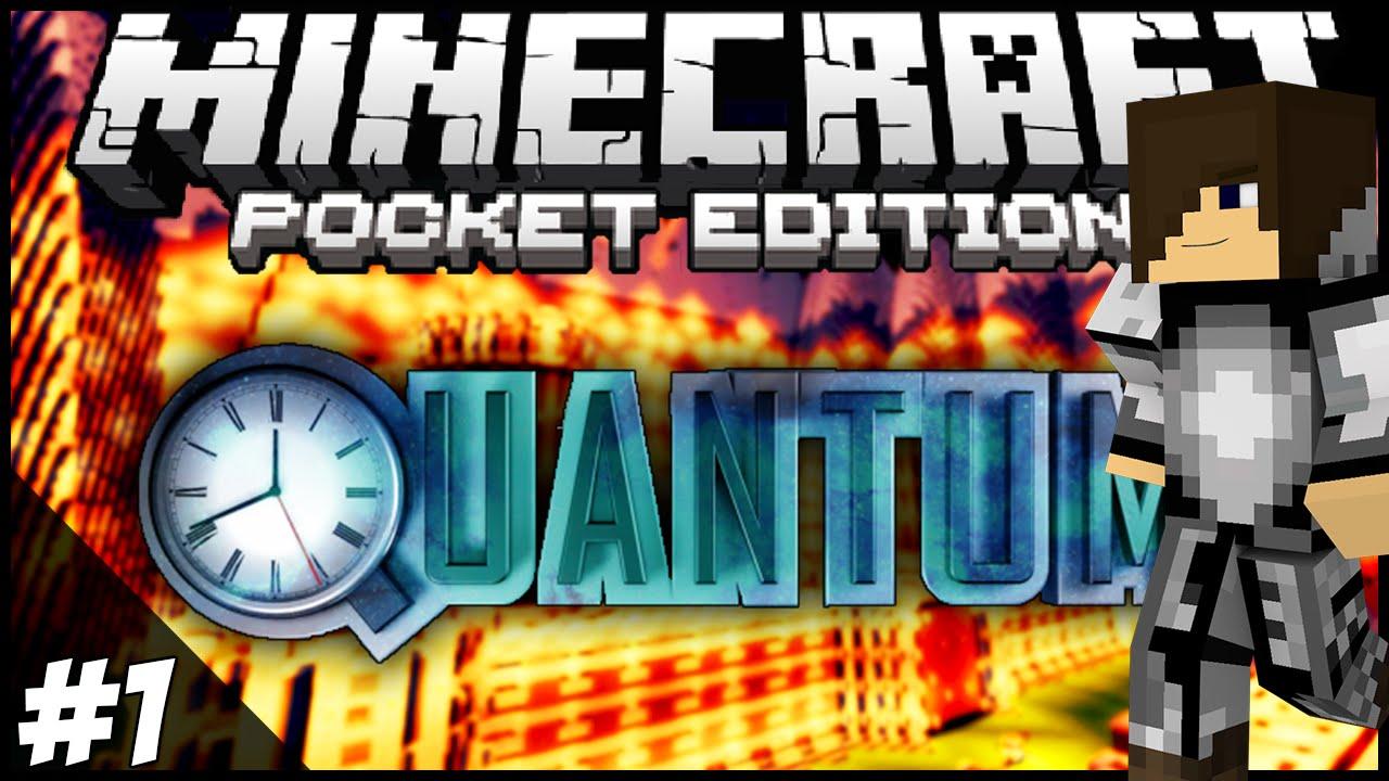 "Quantum Ep.9 ""SHADERS"" - Minecraft: Pocket Edition Adventure Map"