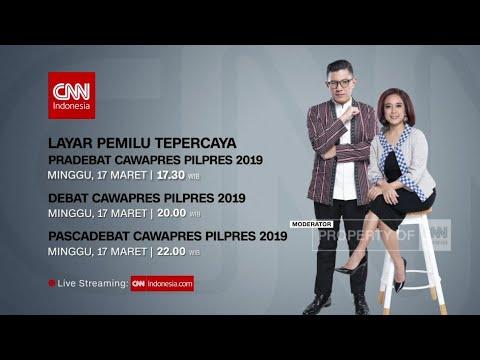 Live!!! Transmedia Debat Cawapres 17 Maret 2019 #DebatCawapresPilpres2019 #DebatPilpres2019