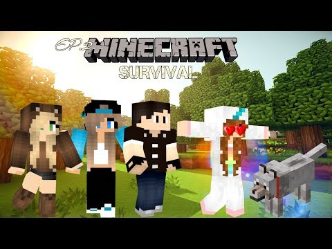 Minecraft Survival: Our World|Episode 2 ~ Our Little Family