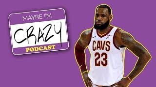 LeBron vs Warriors VOL. 2 (feat. Terrell Owens) | EPISODE 44 | MAYBE I'M CRAZY thumbnail