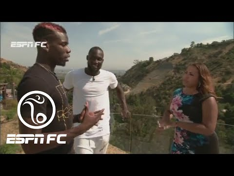 Exclusive Interview With Paul Pogba And Romelu Lukaku | ESPN FC