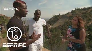 Exclusive Interview With Paul Pogba And Romelu Lukaku | ESPN FC