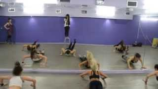 """FL Dance Studio""  Workshop by Yeva Shiyanova in Moscow"