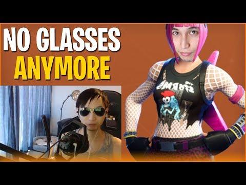 NO GLASSES ANYMORE STREAM (ft. canceldota, BuBuBu) - SingSing Fortnite Battle Royale