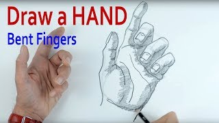 How to Draw a Hand: Part 2 Bent Fingers