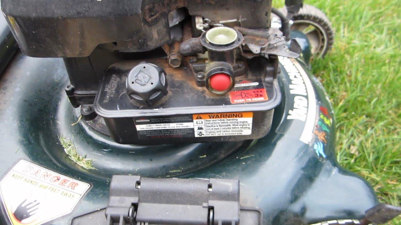 yard machine mower parts diagram 1972 chevelle starter wiring lawn - carburetor diaphragm replacement briggs & stratton engine march 3 ...
