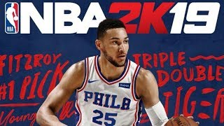 Ben Simmons on NEW NBA 2K19 Cover!