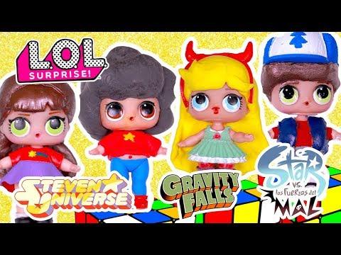 Muñecas LOL Sorpresa STEVEN UNIVERSE, STAR vs LAS FUERZAS DEL MAL, GRAVITY - Juguetes Fantasticos