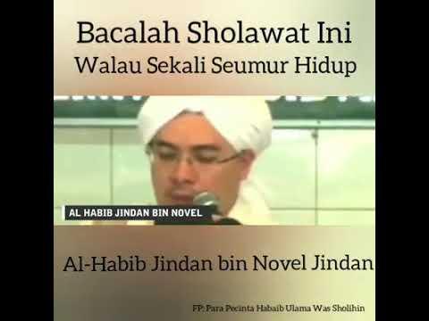 Habib Jindan Bin Novel Jindan Bacalah Sholawat Ini