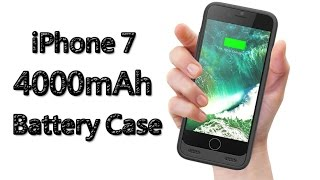 ZeroLemon 4000mAh Battery Case for iPhone 7 Review!