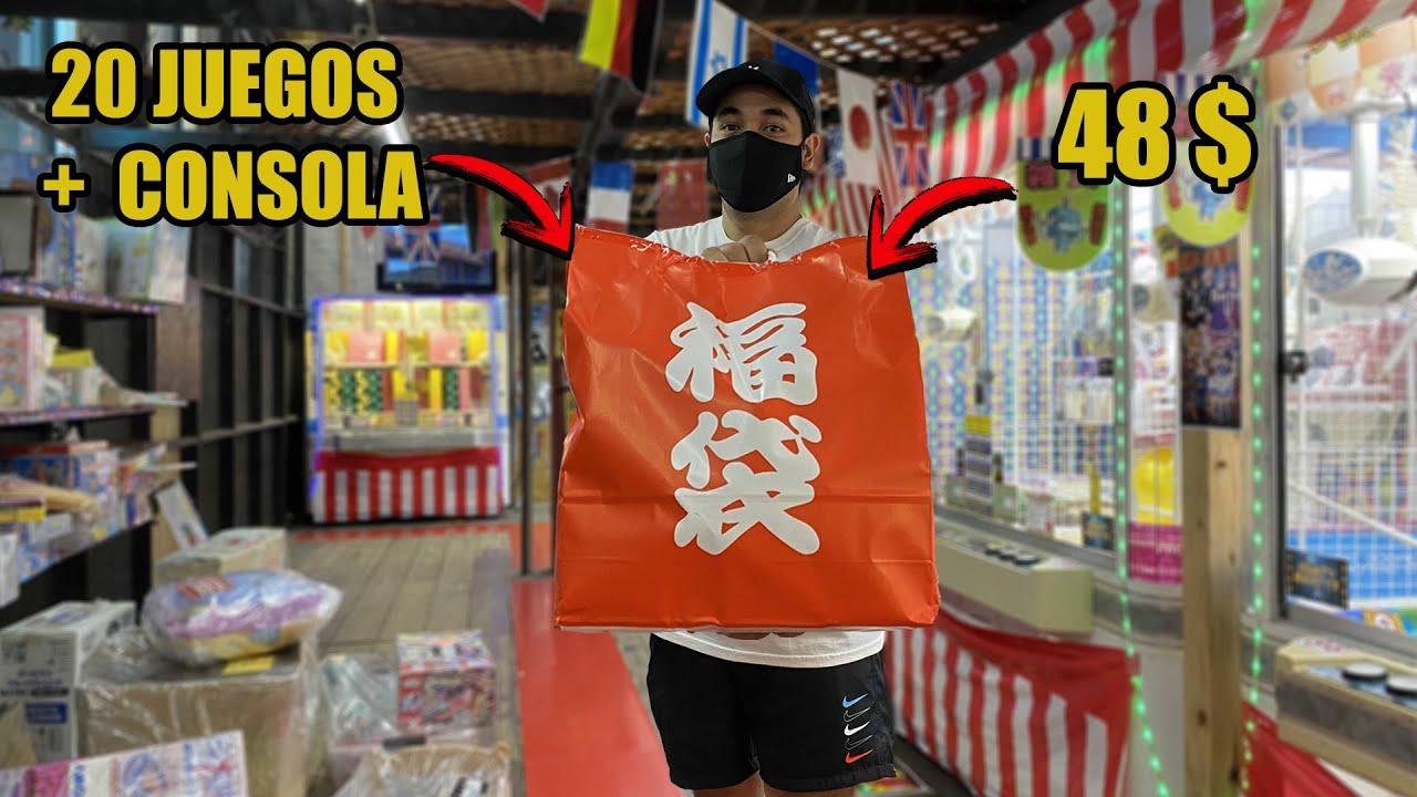 COMPRE una bolsa SORPRESA de SUPER NINTENDO con 20 juegos y CONSOLA en JAPON | VIDEOJUEGOS RETRO