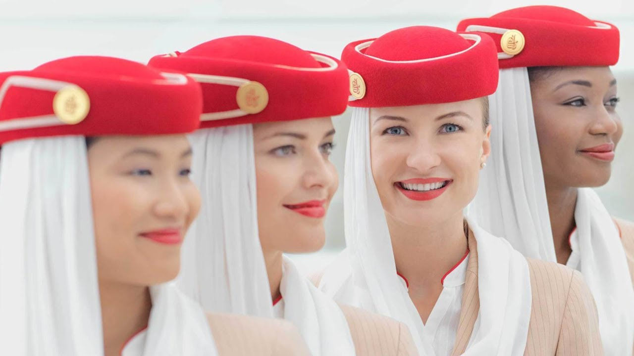 Top 10 Airlines for Beautiful Air Hostesses - YouTube