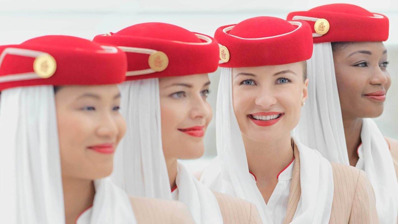 Air hostess flight attendant