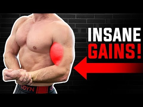 BICEPS: The ONLY TWO Exercises You Need For GROWTH! | BIGGER ARMS NOW!