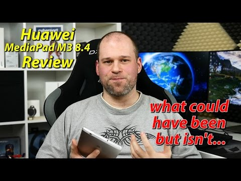 Get Huawei Mediapad M3 8.4 Review | what could have been, but isn't... Pictures
