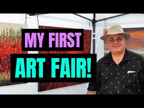 My First Art Fair Booth