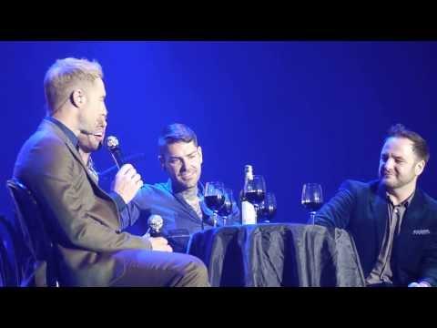 Boyzone - Stephen Tribute and Better - Newcastle - Metro Radio Arena - 14.12.13