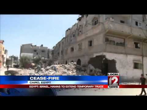 Gaza truce extension fans hope of Cairo talks%