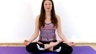 Hot Yoga For Beginners - Lotus Pose Tutorial