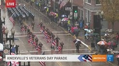 FULL VIDEO: Knoxville's 2018 Veterans Day parade (part 1)