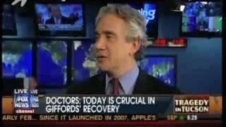 Brain Swelling: Dr. Kornel on Fox News & Rep. Giffords' Prognosis