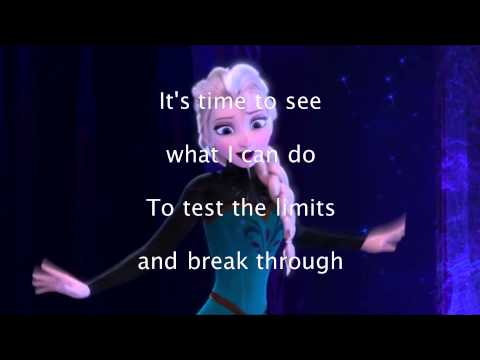 Let It Go -Idina Menzel (Karaoke)